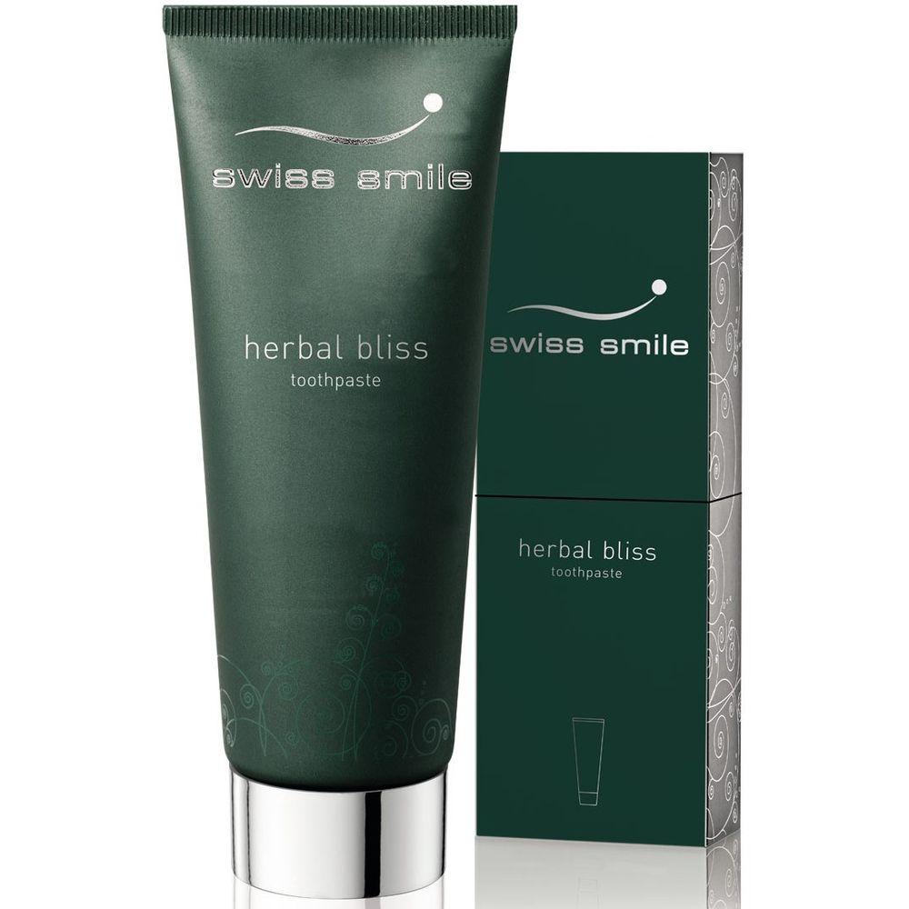 Купить Swiss Smile Зубная паста витаминно-травяная Травяное удовольствие 75мл