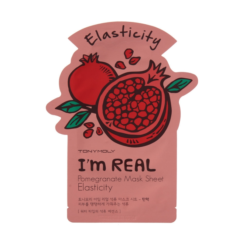 Тони Моли/Tony Moly Маска для лица Im Real Pomegranate Mask Sheet