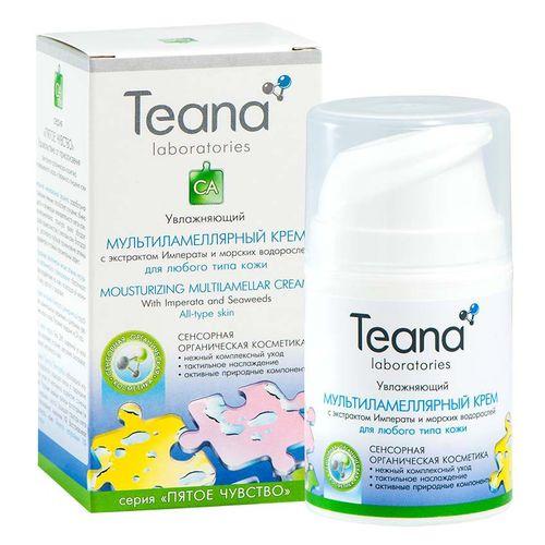 Teana/Теана Увлажняющий мультиламеллярный крем с экстрактом Императы 50мл