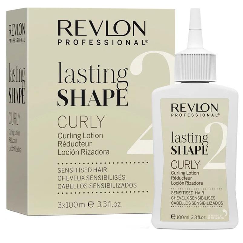 Revlon lasting shape curly лосьон 2 для химической