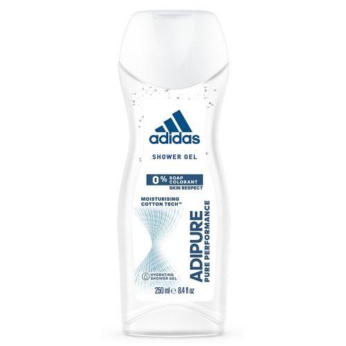 Adidas adipure гель для душа для женщин 250 мл