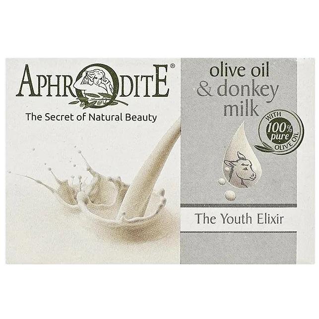 Aphrodite Мыло оливковое с молоком ослиц 100 г  - Купить