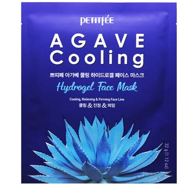 Купить Petitfee Маска для лица гидрогелевая Агава Agave Cooling Hydrogel Face Mask 32г