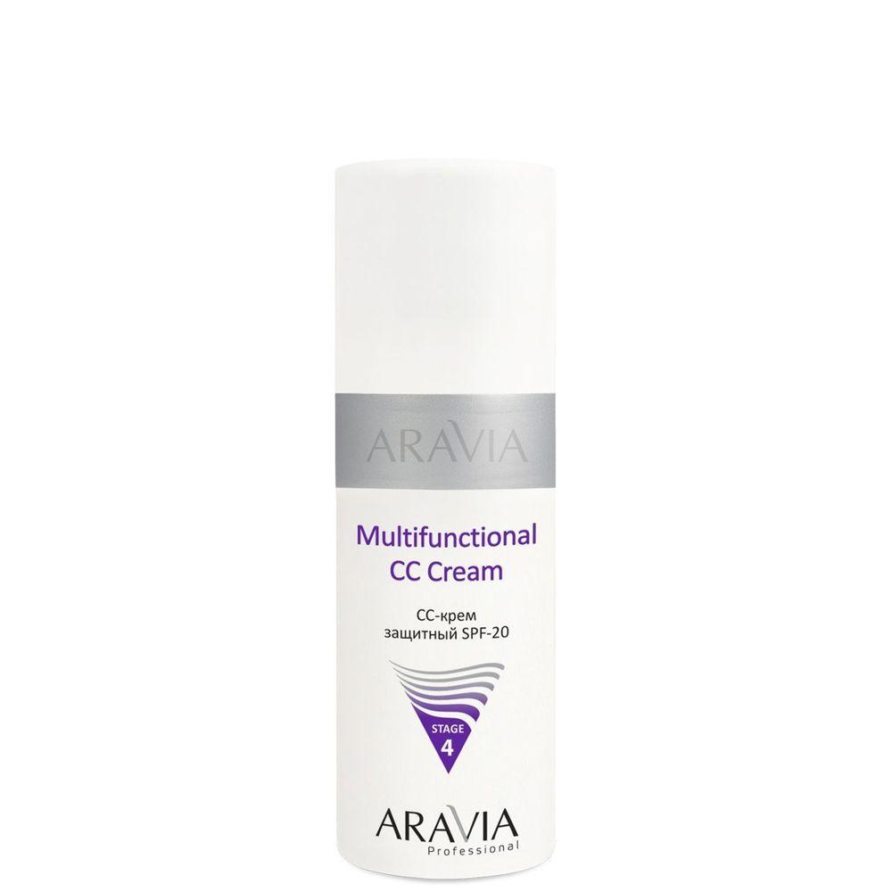 Купить Aravia CC-крем защитный SPF-20 Multifunctional CC Cream send 02 150 мл, Aravia Professional