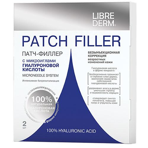 Купить Либридерм патч-филлер с микроиглами гиалуроновой к-ты N2, LibreDerm