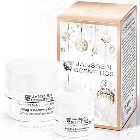 Janssen Набор Christmas Восстанавливающий крем с лифтинг-эффектом 50мл+Крем для глаз 15мл J991.083
