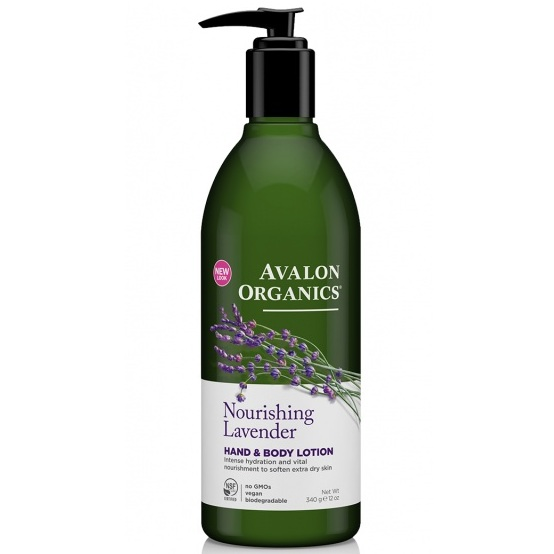 Avalon Organics Лосьон для рук и тела с маслом лаванды Lavender LTN 340г