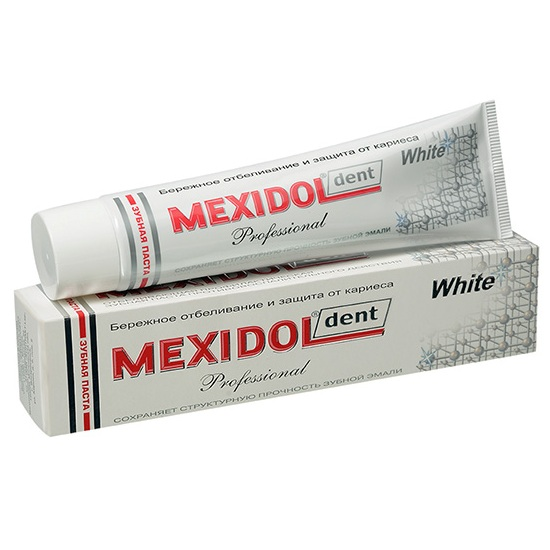 Купить Мексидол Дент PROFESSIONAL WHITE Зубная паста 65г, Mexidol dent