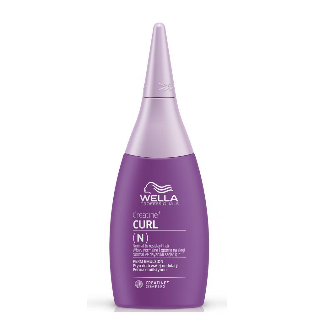 Wella creatine+ curl лосьон для нормальных волос от тонких до трудноподдающихся 75мл