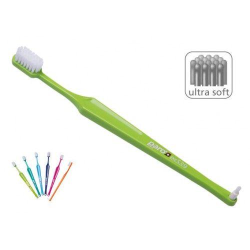Paro exS39 ultra soft Extra Sensetive Зубная щетка c  монопучковой насадкой ультра мягкая