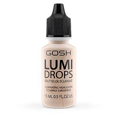 Gosh Люминайзер-флюид для лица Lumi Drops 15мл тон 002 ванильный