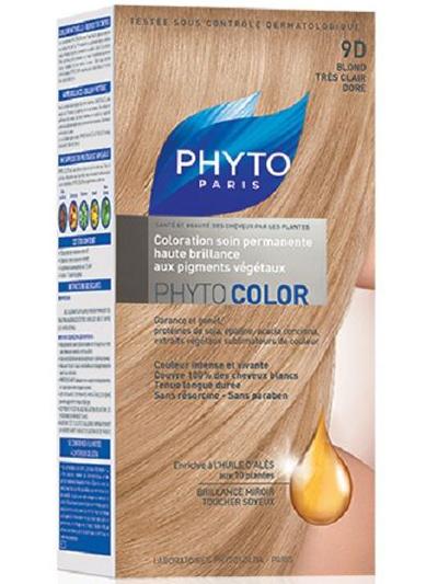 Фитосольба/Phyto Фитоколор Краска для волос очень Светлый Золотистый Блонд 9D