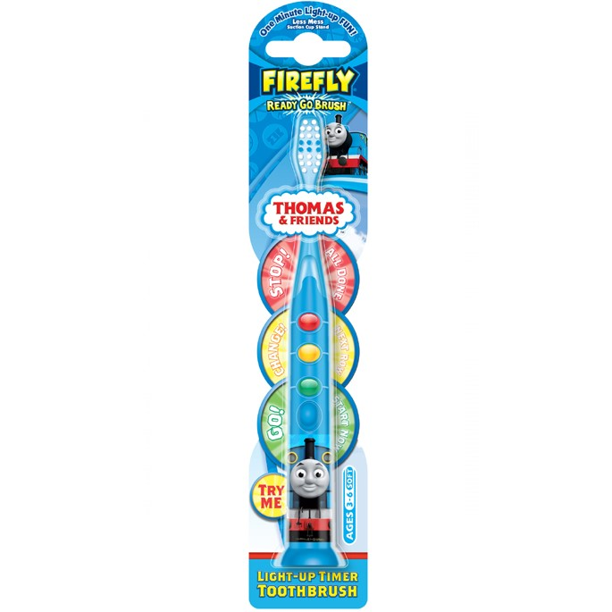Thomas & Friends Ready Go toothbrushes Dental Set Детская зубная щетка с таймером-подсветкой (светофор)