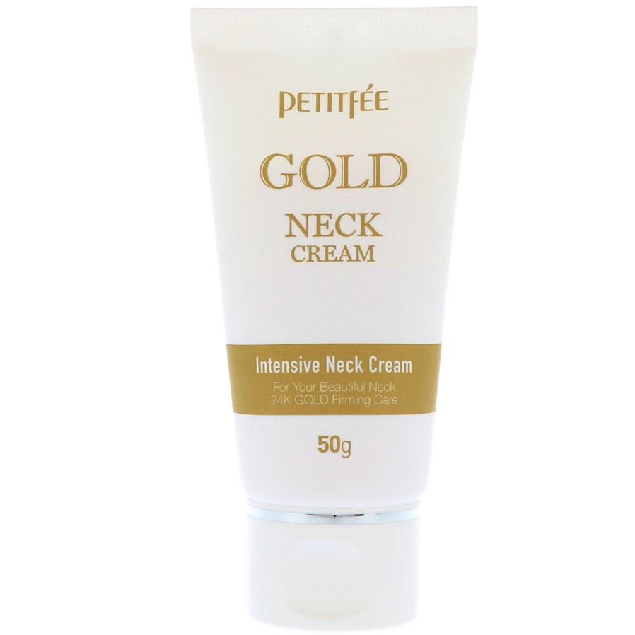 Petitfee Крем для шеи антивозрастной GOLD INTENSIVE NECK CREAM 50г фото