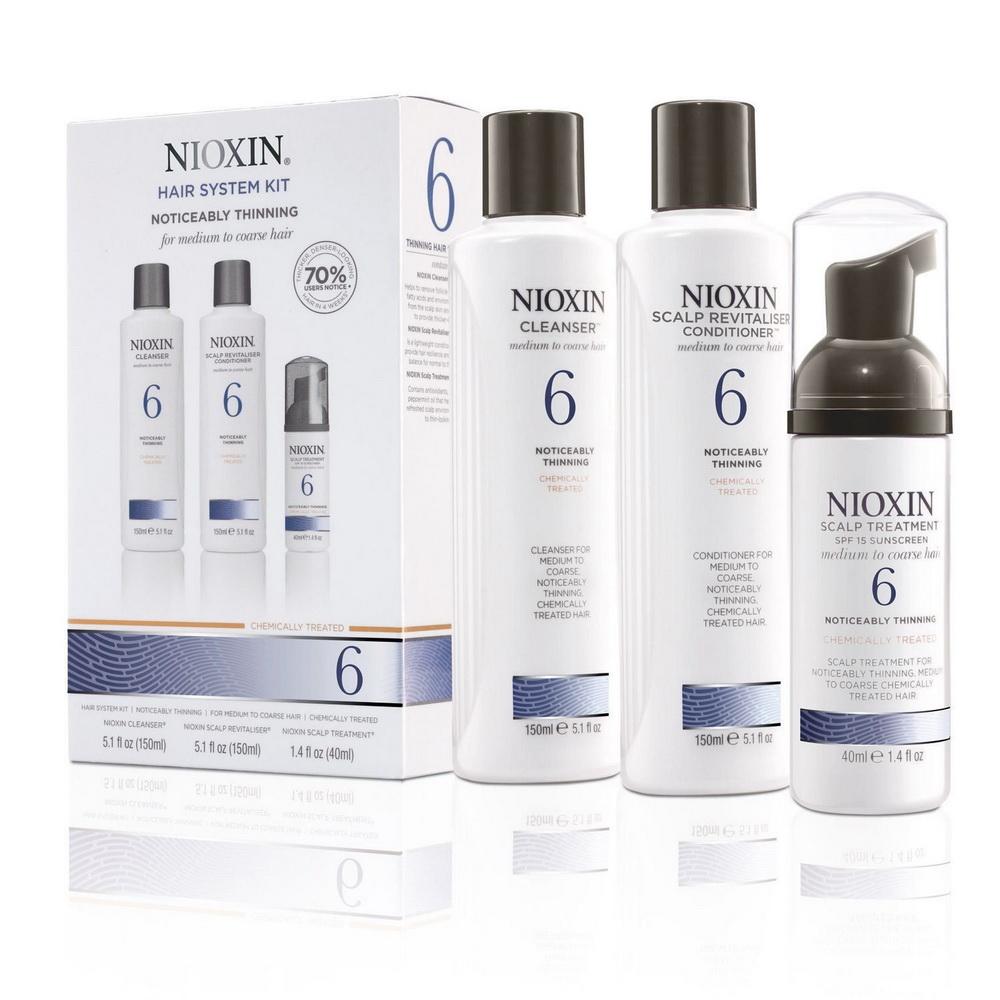 Купить Nioxin Система 6 Набор XXL 300мл+300мл+100мл