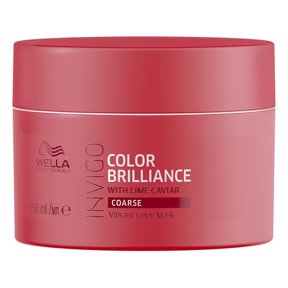 Купить Wella Invigo Color Brilliance Маска-уход для защиты цвета окрашенных жестких волос 150мл
