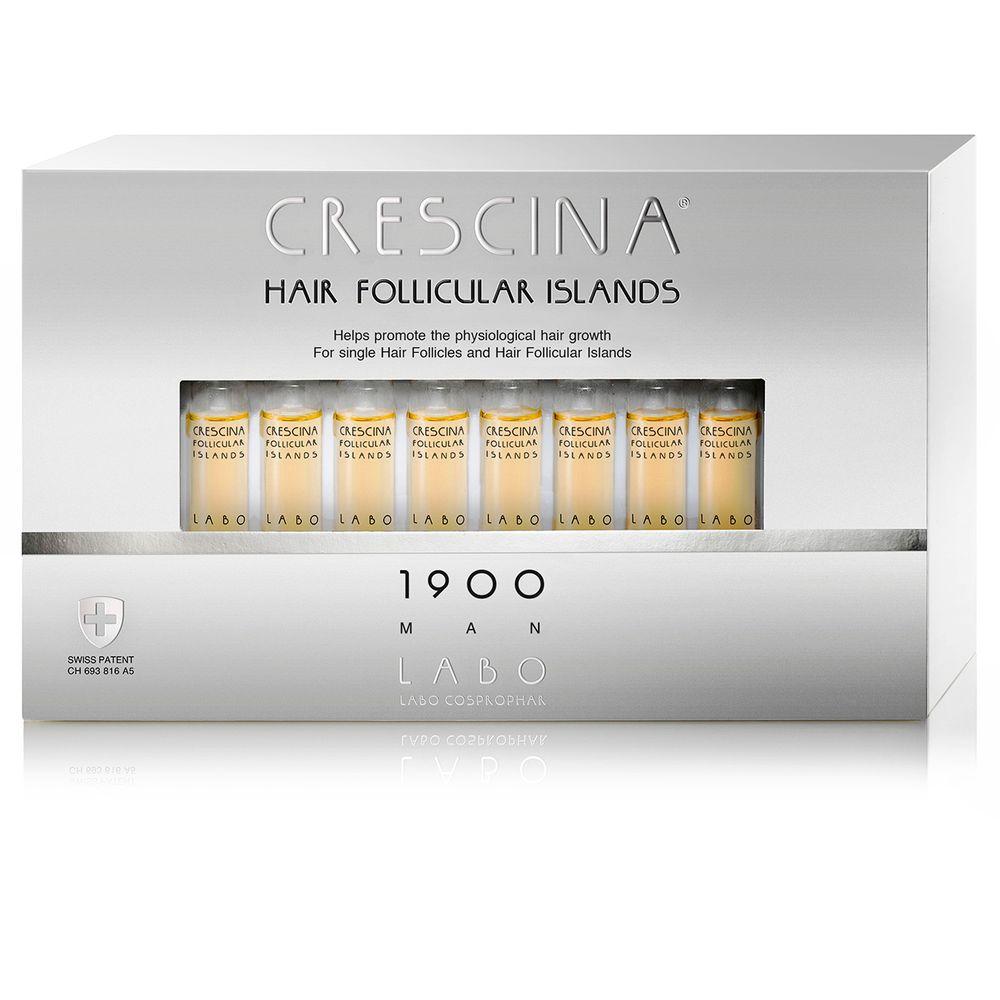 Crescina 1900 для мужчин лосьон для предотвращения потери и стимуляции волос 3,5мл №40