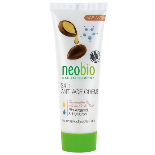 Купить Необио Разглаживающий крем для лица 24 часа 50 мл, Neobio