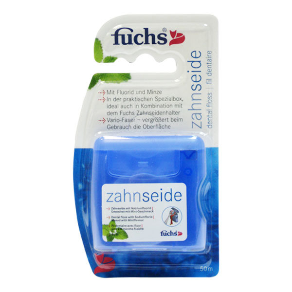 Купить Fuchs Floss-Refill зубная нить мятная 50 м