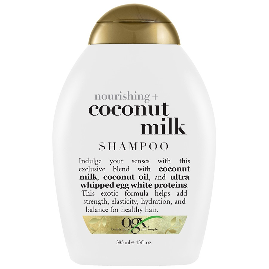Купить OGX Шампунь Питательный с кокосовым молоком 385 мл