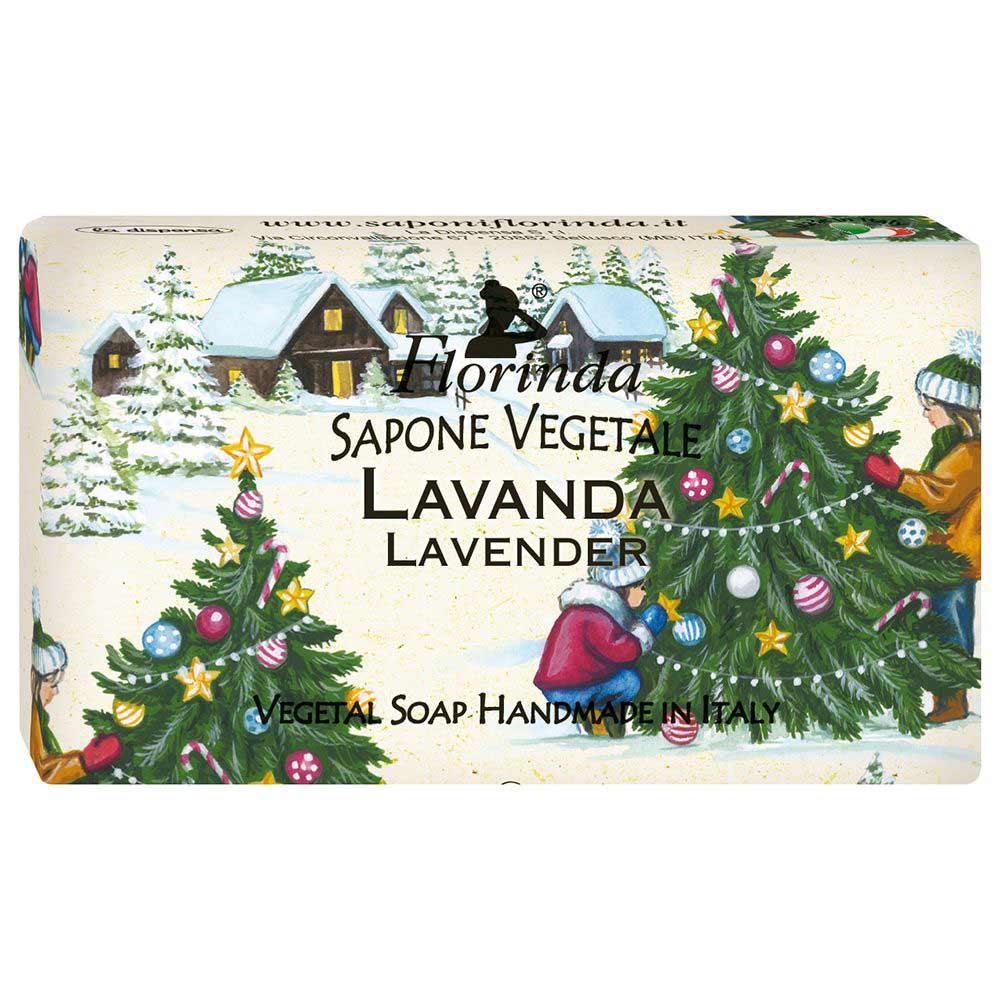 Florinda мыло Счастливого Рождества Lavanda Огни Рождества 100г