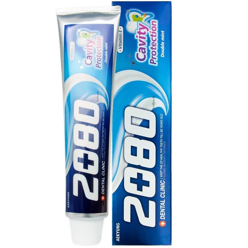 KeraSys Зубная паста Dental Clinic 2080 Cavity Protection натуральная мята 20гр