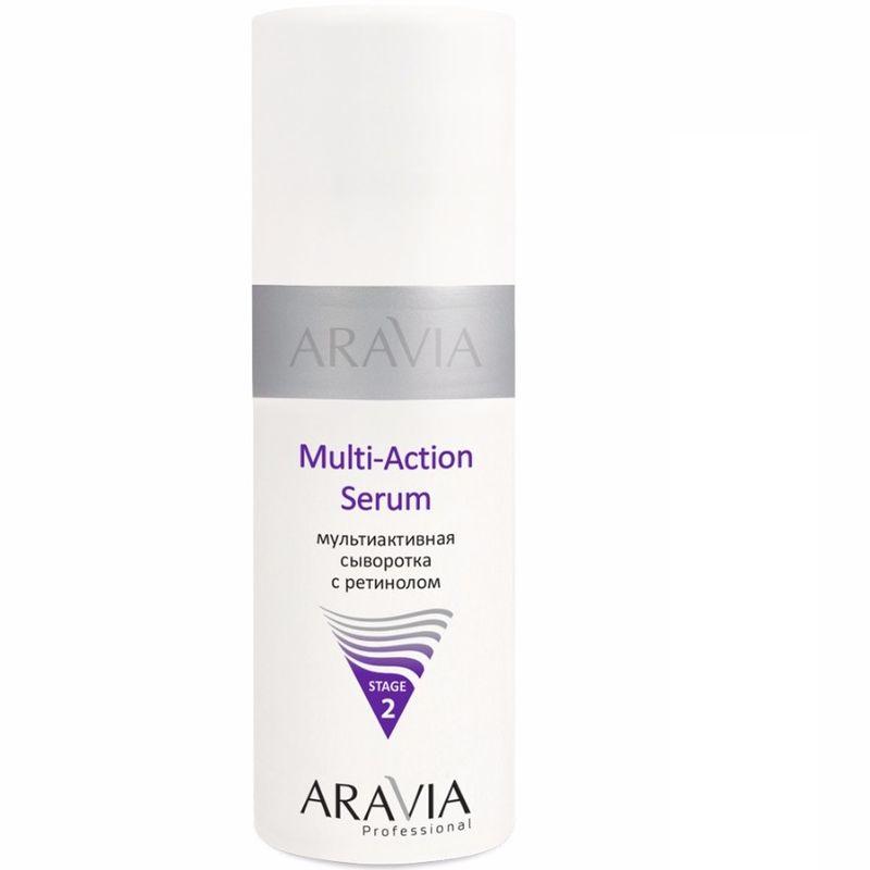 Купить Aravia Мультиактивная сыворотка с ретинолом Multi Action Serum 150мл, Aravia Professional