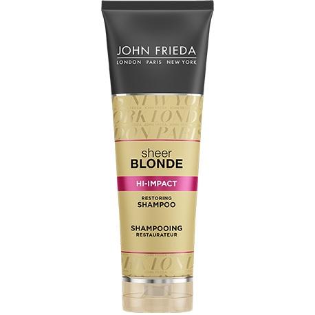 Купить со скидкой John Frieda Sheer Blonde HI-IMPACT Восстанавливающий шампунь для сильно поврежденных волос 250 мл