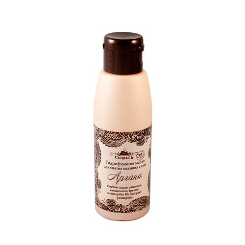Купить Спивакъ Гидрофильное масло для снятия макияжа Аргана 100мл, СпивакЪ