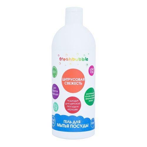 Купить Freshbubble Гель для мытья посуды Цитрусовая свежесть 500мл