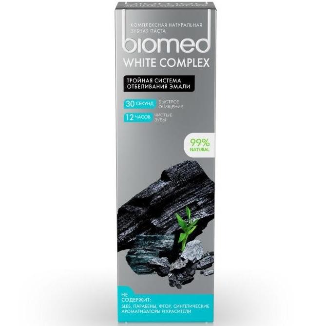 Splat зубная паста biomed вайт комплекс 100г
