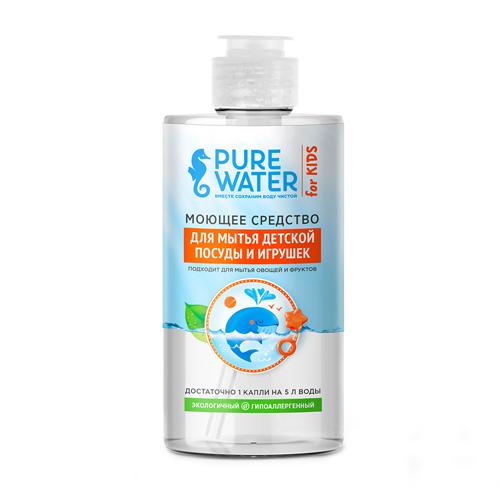 Pure Water Средство для мытья детской посуды 450 мл.