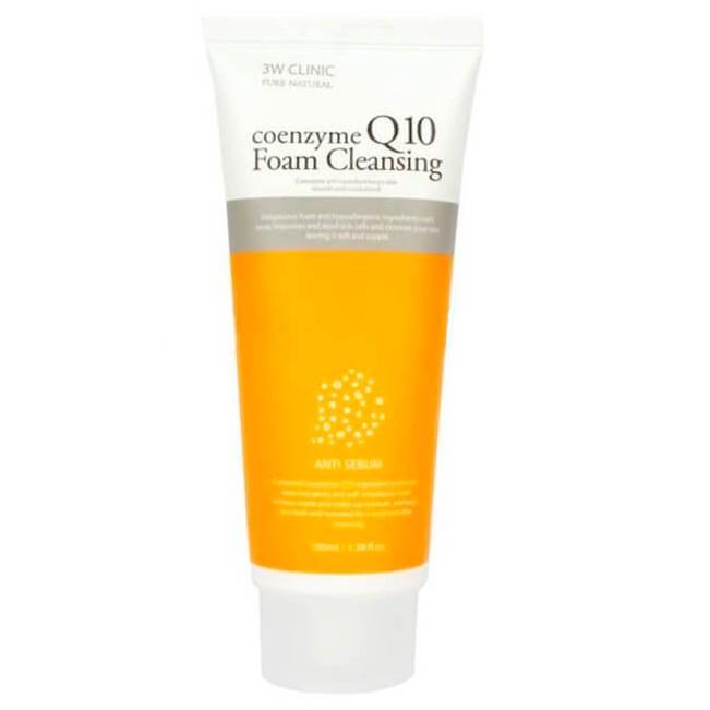 Купить 3W Clinic Пенка для умывания Коэнзим Q10 Coenzyme Q10 Foam Cleansing 100мл