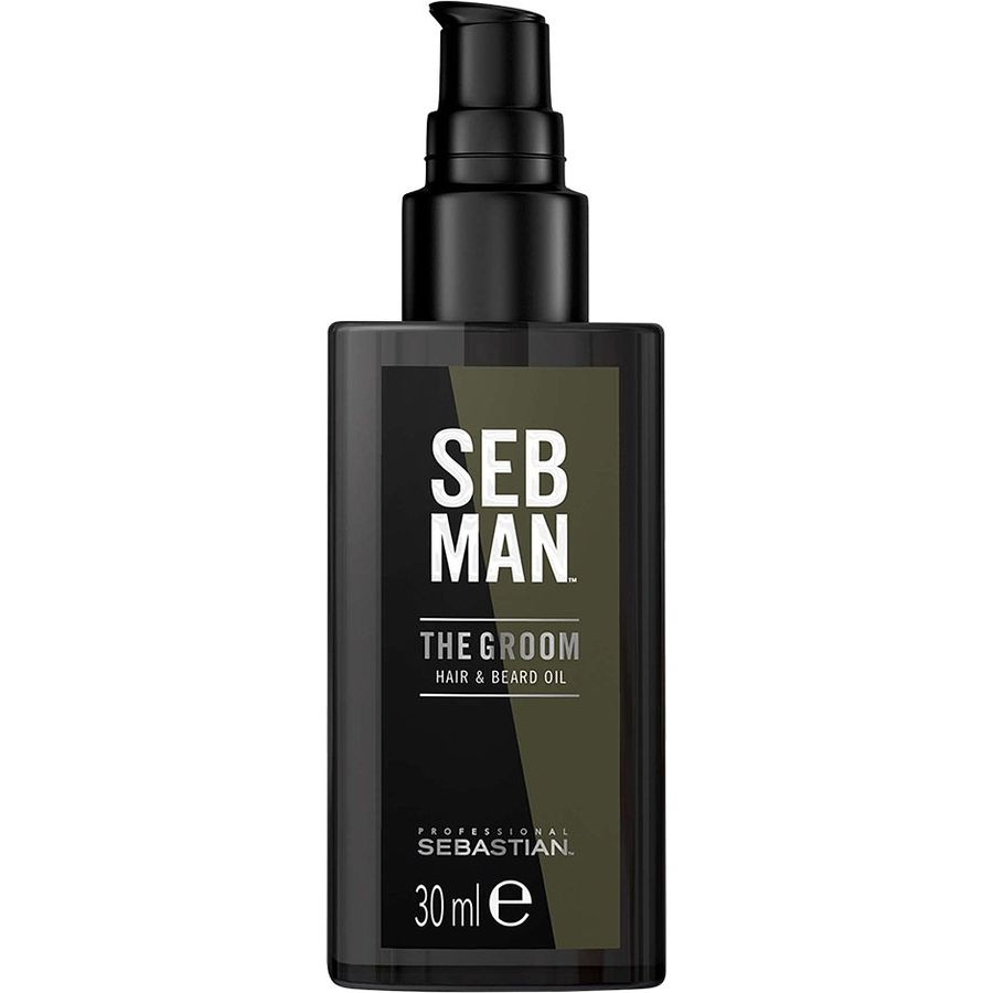 Купить Sebastian SEBMAN THE GROOM Масло для ухода за волосами и бородой 30мл, Sebastian Professional