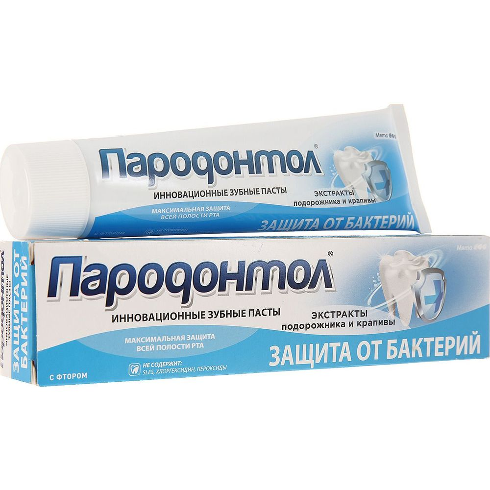 Купить Свобода Зубная паста Пародонтол Антибактериальная защита 124г