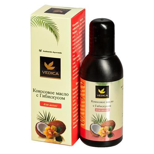 Veda Vedica Кокосовое масло для волос с Гибискусом 100мл