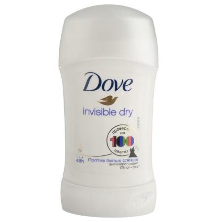 Купить Dove Дезодорант антиперспирант карандаш женский Невидимый 40мл