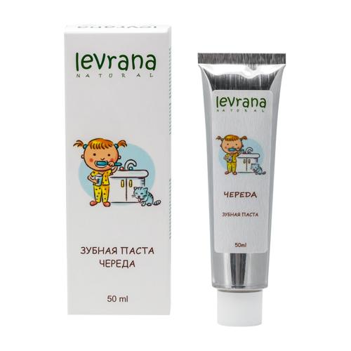 Купить Levrana Зубная паста гелевая детская Череда 50мл