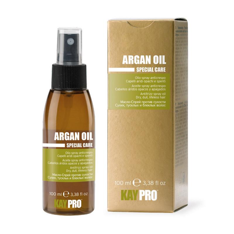 Kaypro масло-спрей аргановым маслом против сухости волос 100 мл