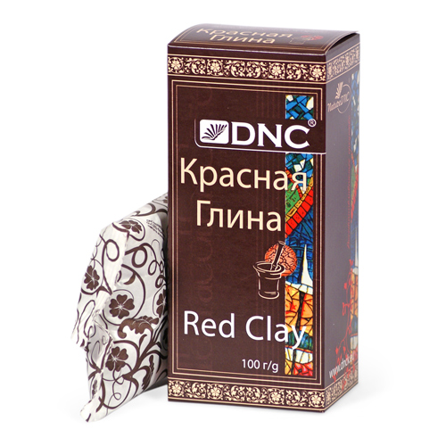 DNC Глина косметическая Красная 100г