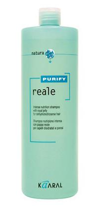 Купить Kaaral Purify Reale Восстанавливающий шампунь для поврежденных волос 1000 мл