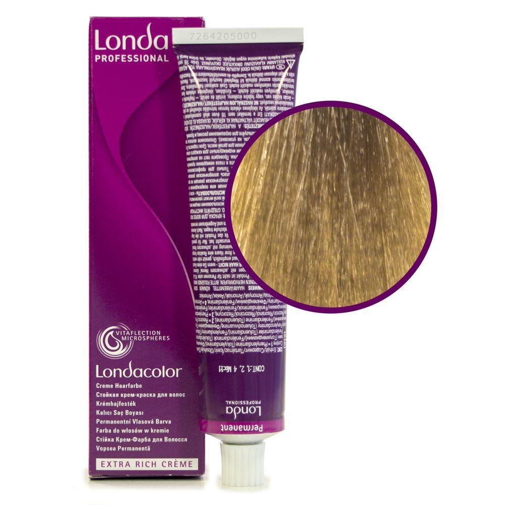 Londa Color 9/7 очень светлый блонд коричневый стойкая крем-краска 60мл LONDA PROFESSIONAL