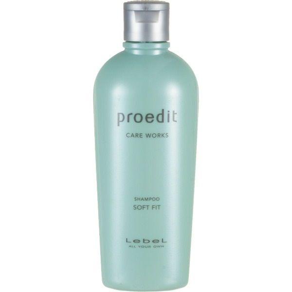 Купить Lebel Proedit Care Works Шампунь для жестких волос Soft Fit 300мл
