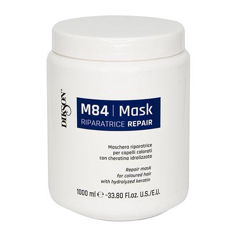Купить Dikson Mask Repair M84 Маска восстанавливающая для окрашенных волос с гидролизированным кератином 1000мл