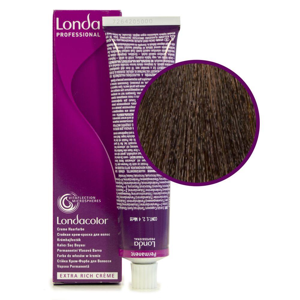 Londa Color 5/4 светлый шатен медный стойкая крем-краска 60мл LONDA PROFESSIONAL