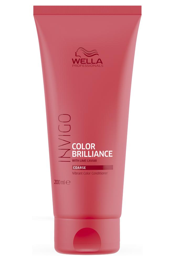 Купить Wella Invigo Color Brilliance Бальзам-уход для защиты цвета окрашенных жестких волос 200мл