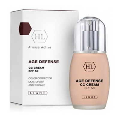Holy Land Age Defense CC Cream SPF 50 Light  корректирующий крем 50мл