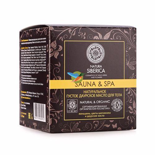 Купить Натура Сиберика Sauna&Spa Масло для тела Густое даурское 370 мл, Natura Siberica