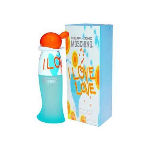 Купить MOSCHINO CHEAP&CHIC I LOVE LOVE вода туалетная жен 30 ml