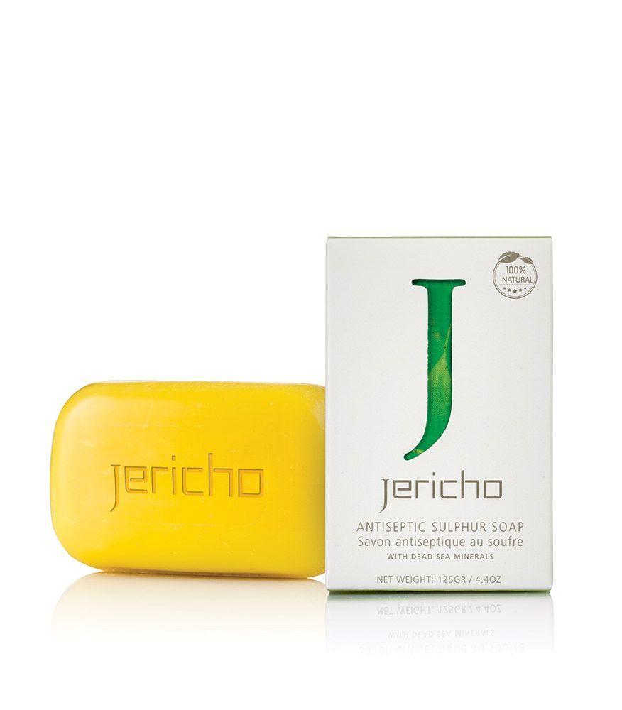 Купить Jericho Мыло Серное Активное 125г